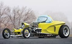 """1962 Ed Roth """"Mysterion"""" Roadster Recreation"""