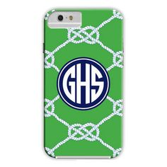 Nautical Knot Kelly iPhone Hard Case