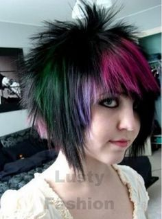 nice Short and Medium Scene Hairstyles for Girls Emo Haircuts For Girls, Short Emo Haircuts, Emo Girl Hairstyles, Scene Haircuts, Scene Hairstyles, Fall Hairstyles, Medium Haircuts, Wedding Hairstyles, Hairstyles For Medium Length Hair Easy