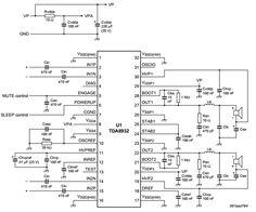 Figure 6 stereo audio amplifier board schematic audio tda8932 2x15 amplifiercircuitfo altavistaventures Image collections