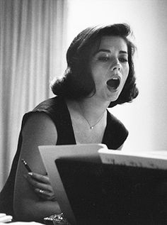 """ Natalie Wood during rehearsals on the set of West Side Story, photographed by Ernst Haas, 1960. """