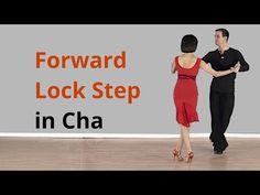 Cha Cha Forward Lock Step / Latin Dance - YouTube
