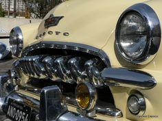 Classic Car: teeth of a Desoto - my favorite part!