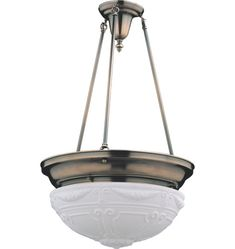 Clifton Classic Bowl-Shade Chandelier