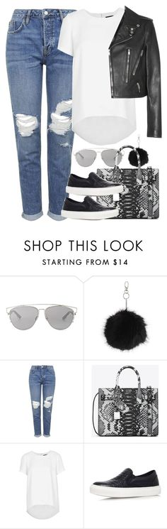 """Untitled #3877"" by amyn99 ❤ liked on Polyvore featuring Christian Dior, Topshop, Yves Saint Laurent, women's clothing, women, female, woman, misses and juniors"