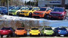 There are many like it.... Mine is Orange! 2015 Subaru XV Crosstrek Rainbow FTW!