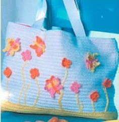 Butterfly Crochet Bag   FaveCrafts.com