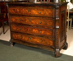 Italian Chest of Drawers, Commode, Late 17th Century 1690