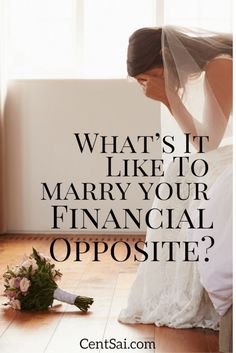 What's It Like to Marry Your Financial Opposite? My husband and I share our finances, but we don't share a financial mindset. Sometimes, in fact, we drive each other crazy.