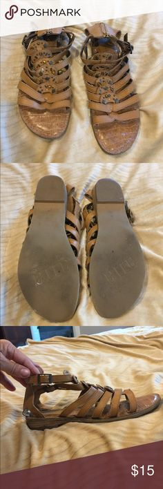 Ana gladiator style sandals Cute!  Excellent condition!  Non-smoking environment! Ana Shoes Sandals