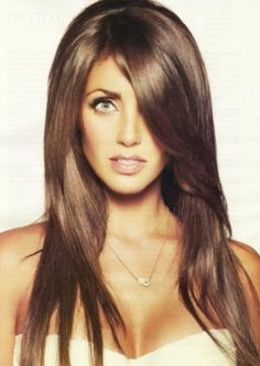 3 Best Brunette Hair Colors for fair skin tone.Brown hair color shades :Golden brown, Ombre