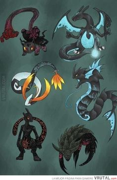 Pokémon al estilo de Twilight Princess