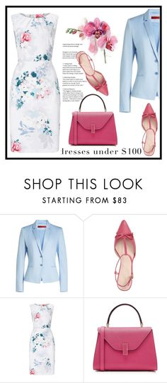 """""""Untitled #667"""" by jovana-p-com ❤ liked on Polyvore featuring HUGO, Kate Spade, Phase Eight and Valextra"""