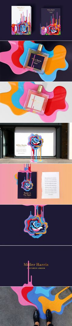 Check Out This Ultra Colorful Perfume Packaging For Miller Harris — The Dieline   Packaging & Branding Design & Innovation News