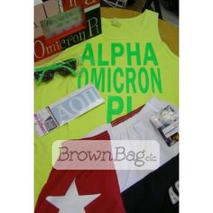 AOPII Bid Day packages available in stores or online today! Bid Day Gifts, Brown Bags, Online Gifts, Paper Bags