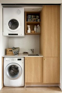 DIY Small Laundry Room Organization Ideas (70)