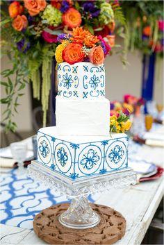 Torta de novios mejicana