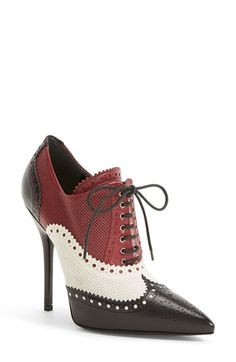 Gucci+'Gia'+Pointy+Toe+Bootie+(Women)+available+at+#Nordstrom