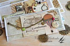 Meg's Garden: Envelopes for gentlemen part 2
