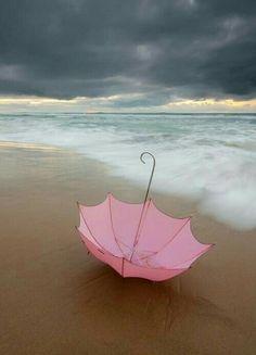Everything's Better at the ☔ ☔ Siebert Realty - The Beach People Sandbridge Beach, Virginia Beach, VA Pink Umbrella, Umbrella Art, Under My Umbrella, Pinterest Design, Virginia Beach Vacation, My Favorite Color, My Favorite Things, Rosa Pink, Umbrellas Parasols