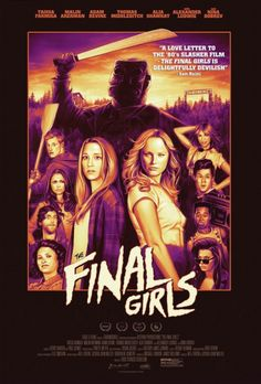 Official Retro Poster for The Final Girls