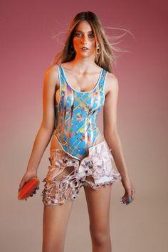 Auria x Margot Bowman SS13 Swimwear Collaboration
