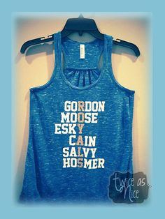 Kansas City Royals Players Flowy Tank Top by 2xnice on Etsy
