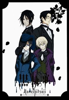 Black Butler ~~~ I never saw the second series, but I'm sure it was sexy fun