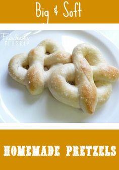 Homemade pretzel recipe. #superbowlfood