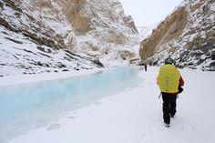 Chadar frozen Zanskar River Trek >>>  #Camping #Mountaineering #Trekking #treks #ZanskarRiverTrek