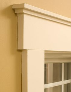 Craftsman Style Windows | Craftsman Style Window Trim | Window Treatments Ideas. Nice details on original blog
