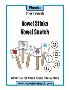 FREE- two activities designed to teach and practice short vowel sounds.