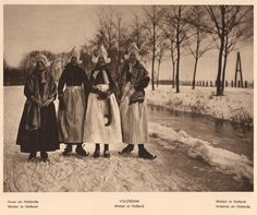 Holland  fotoboek j 20  -  Volendam winter