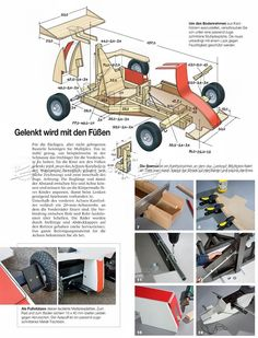 DIY Formula 1 Go Kart - Children's Outdoor Plans