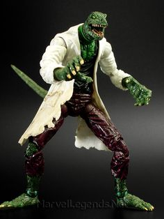 Marvel Legends Spider-Man vs The Fearsome Foes Gift Set Lizard // Pinned by: Marvelicious Toys - The Marvel Universe Toy & Collectibles Podcast [ m a r v e l i c i o u s t o y s . c o m ]