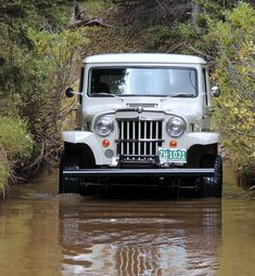 Jeep Discover Dan Noyes 1964 Willys Station Wagon - Photo submitted by Dan Noyes. Jeep Pickup, Jeep 4x4, Jeep Truck, Pickup Trucks, Vintage Jeep, Vintage Trucks, Willys Wagon, Jeep Willys, New Foto