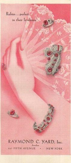 1939 Raymond C Yard Jewelry