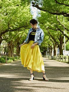 <OFFICIAL>UNITED TOKYOさんの「ノーカラーデニムジャケット(UNITED TOKYO)」を使ったコーディネート