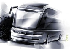 Car Design Sketch, Truck Design, Ev Truck, Luxury Bus, Most Expensive Car, Busse, Big Rings, Mode Of Transport, Commercial Vehicle
