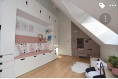 Ikea Stuva, Kidsroom, Girl Room, Attic, Cool Girl, Toddler Bed, New Homes, Nursery, Architecture