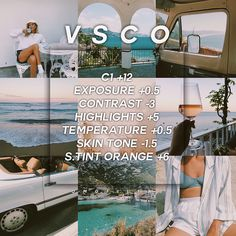 Free filter❕here's a gorgeous summer vintage filter that works with pretty m. - V s c o f i l t e r s - vsco Vsco Filters Summer, Best Vsco Filters, Instagram Themes Vsco, Instagram Feed, Free Instagram, Vsco Filter Bright, Lightroom, Photography Filters, Photography Basics