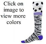 Red Lion Zebra Dot Knee High Socks Visit our new sites to order these socks. awesome-sports.com