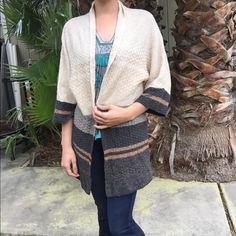 Super soft long sweater Very soft long line sweater. 24% rayon, 21% cotton, 20% nylon, 11% acrylic, 9% wool, 6% linen, 2% mohair, 1% cashmere, 6% other fibers. Coldwater Creek Sweaters Cardigans