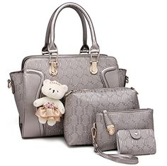Women Bags Faux Leather Tote Bag Handbags for Women with ...