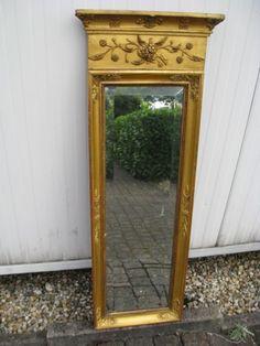 Antique hall mirror, Louis Seize XVI, about 1770