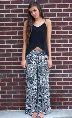5ecc81c32313b9 441 Best Palazzo Pants Outfit! images in 2017 | Printed trousers ...