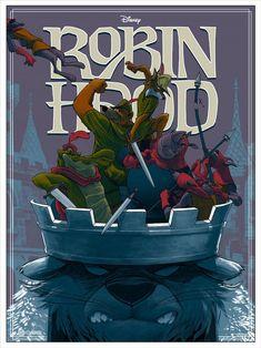 Robin Hood by Rich Kelly