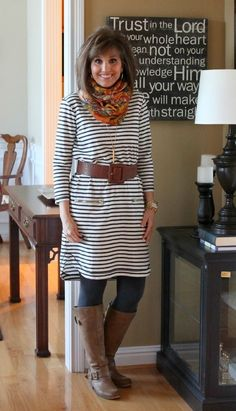 Cute fall/winter outfit for moms! by rhea