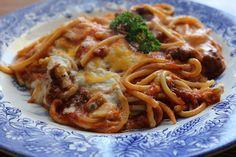 Spaghetti Casserole by jasnicmommy, via Flickr