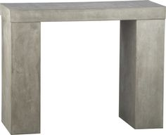 Element - Cement console table